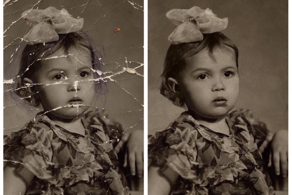 как делать реставрацию фотографий конструкция внешний вид